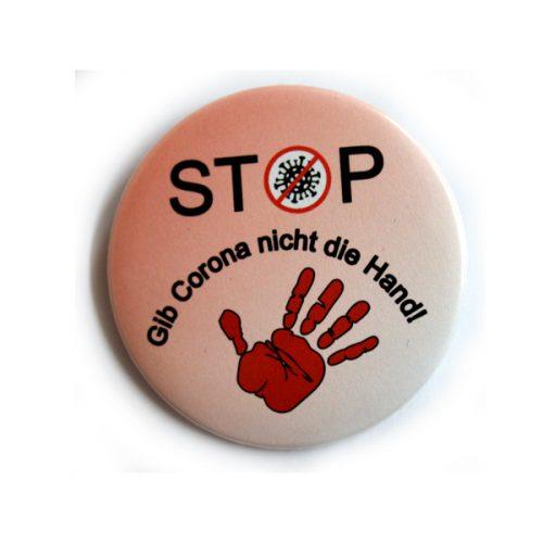 Button Stop Corona